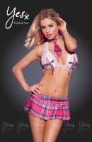 YesX YX114 Naughty School Girl 3pc Outfit