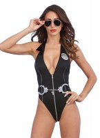 Dreamgirl One Size Naughty Officer Bedroom Costume (UK 6-16)
