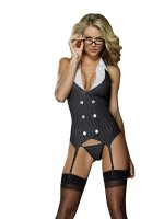 Dreamgirl One Size Working Late UK Size 6-16