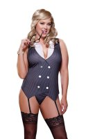 Dreamgirl Plus Size Working Late UK Size 18-24