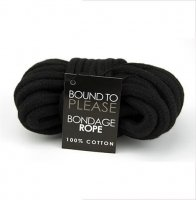 Bound To Please Black Bondage Rope 10 Metre