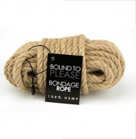 Bound To Please Hemp Bondage Rope 10 Metre