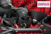 Loving Joy Beginners 8 Piece Black Bondage Kit