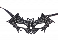 Dreamgirl Black Vampire Lace Eye Mask