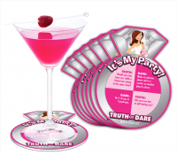 Ball & Chain Bride to Be Party Coasters