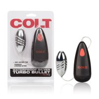 COLT Waterproof Silver Turbo Bullet Egg