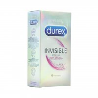 Durex Invisible Extra Lubricated 12's (New Packaging)