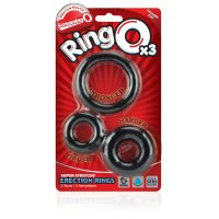 Screaming O RingO's x 3 (Black)