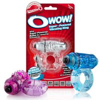 Screaming O Wow Super Powered Vibrating Cock Ring