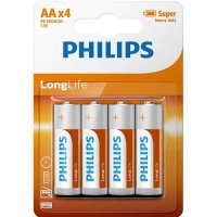 Philips AA Batteries (4 Pack)