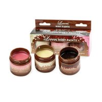 Lovers Chocolate Body Paints (3 Pack)