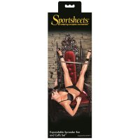 Sportsheets Expandable Spreader Bar & Cuffs