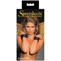 Sportsheets Sports Cuffs - Black