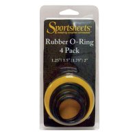 Sportsheets Rings Set-4 Assorted Sizes(Singles) - Strap On