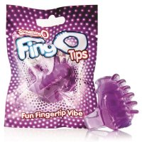Screaming O FingO Tips - Purple
