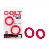 COLT Silicone Super Rings - Red