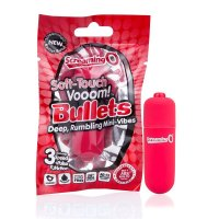 Screaming O Soft Touch Vooom Bullets - Red