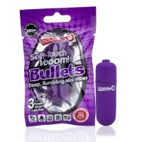Screaming O Soft Touch Vooom Bullets - Purple
