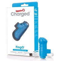 Screaming O Charged FingO Mini Vibe - Blue