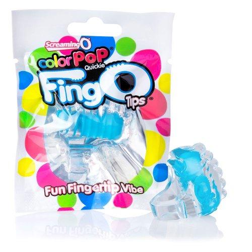 Screaming O Colour Pop Quickie FingO Tips - Blue