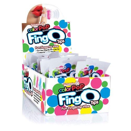 Screaming O Colour Pop Quickie FingO Tips - Assorted